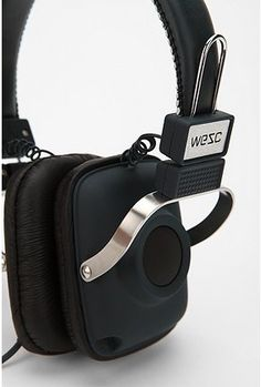 WESC Maraca Headphones #MUSIC
