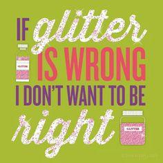 I don't wanna be right