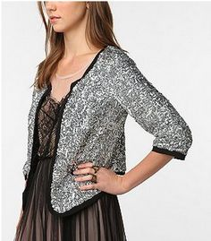 Amazing sequin blazer, photo doesn't do it justice. Got it on sale for $19.99!