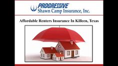 If you are looking for affordable renters insurancein Killeen, TX, consider Shawn Camp Insurance Agency, Inc. The agents assist the clients in selecting an insurance plan based on their requirements. To know more about the renters insurance provided by the Killeen based agency, visit:http://www.shawncampinsurance.com