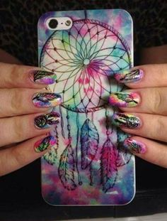 amazing case and nails too