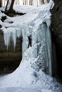 Tannery Falls Michigan Winter