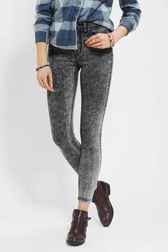 #UrbanOutfitters          #Women #Bottoms           #sits #bdg #high-rise #twig #stretchy #content #cropped #5-pocket #acid #ankle #fly #thigh #hip #fitted #exclusive #jean #leg #length #zip #care            BDG Twig Super-High-Rise Jean                       Stretchy 5-pocket, acid washed, ultra-high-waisted Twig jean cut super-skinny from BDG. Fitted through the hip and thigh with a tapered, cropped leg. Sits just above the hip with a high-rise. Zip fly; ankle length. UO Exclusive…