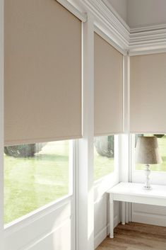 Use Roller Blinds to create the environment you want, room to room, any consistent theme you choose. Buy Roller Blinds online with confidence Living Room Blinds, Bedroom Blinds, House Blinds, Blinds For Windows, Curtains With Blinds, Modern Blinds, Perfect Fit Blinds, Blinds Inspiration, Lush