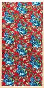 VINTAGE-UZBEK-RUSSIAN-TRADE-PRINTED-COTTON-A5114