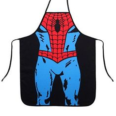 Marvel Comics Spiderman Superhero Apron (Youth/Petite/Child) (Always shipped in free gift box!) >>> More info could be found at the image url.(It is Amazon affiliate link) #likesreturned