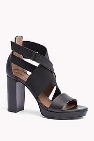 Hilfiger Denim Leather Sandal Style #: EN56821052