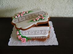 gingerbread rose box