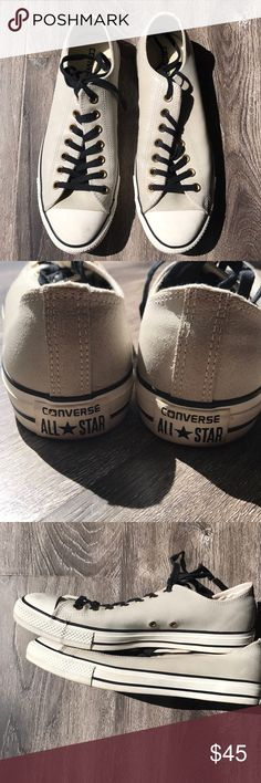 Converse Chuck Taylor Ox Converse Chuck Taylor Ox Barely Worn! EXCELLENT CONDITION!! Size 10. I wear a true 10.5 and these fit like a 10.5 hence the reason I purchased them. Converse Shoes Sneakers