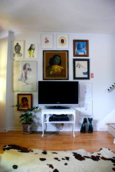 Framing + TV wall