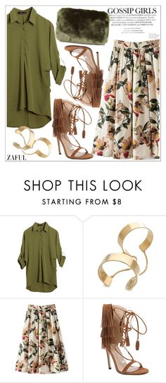 """Zaful"" by teoecar ❤ liked on Polyvore featuring Topshop"