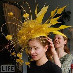Future bonnet idea (Kate Middleton hat)