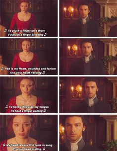 Poldark 1.04: Ross & Demelza I'd pluck a fair rose for my love;I'd pluck a red rose blowingLove's in my heart, a trying so to proveWhat your heart's knowing.