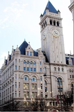 For the next time I find myself in D.C. You can travel to the top of the Old Post Office and see breathtaking views of the city for free.