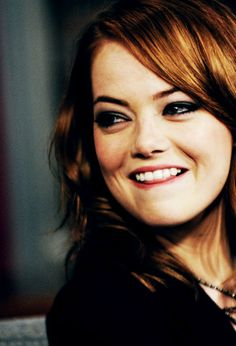 When I picture Emma Stone in my mind this is the exact face she makes #wcw