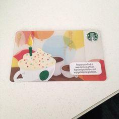 Starbucks Philippines Happy Birthday Card
