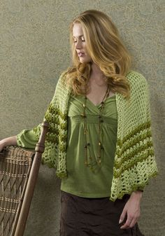Guadalupe Wrap (crochet) - Many more free patterns from this site too