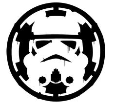 Storm Trooper over Empre Sticker Vinyl Decal Car Laptop Window Oracle star wars #Oracal