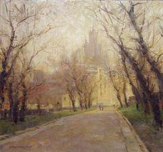 Contemporary Russian Artist Alexander Kosnichev