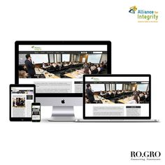 Ro.Gro designed&developed a responsive website for the the Alliance of Integrity- initiative along with a special functionality through which users can create profiles and interact within a domain.Ro.Gro developed a fully fledged design&content strategy for 5 social media channels.Check the website: http://www.afin.international/