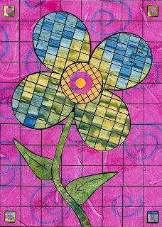 Lorrie Grainger Abdo: April 2009 ... another paper mosaic inspiration.... http://lorrieabdo.blogspot.com/2009_04_01_archive.html#