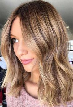 43 Honey Blonde Hair Are the Perfect Match with Summer hairstyle, blond hair, brown hair, honey color Ombre Hair Color, Hair Color Balayage, Brown Hair Colors, Hair Colours, Ash Ombre, Brown Balayage, Blonde Balayage, Gorgeous Hair Color, Cool Hair Color