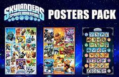 Skylander Poster Pack - BUY 2 GET ONE FREE! Regular Poster (01-4722)