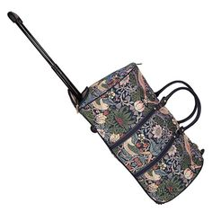 Signare Tapestry Travel Bag Overnight Bags Weekend Bag with Wheel for Women with William Morris Design (Golden Lily) William Morris, Weekender, Travel Bag, Outdoor Blanket, Lily, Tapestry, Stuff To Buy, Bags, Basket