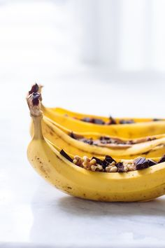 Have fun with dessert! Campfire Banana Boats, healthy recipe | Nutrition Stripped