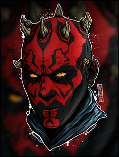 """Star Wars: Dart Maul"" on Behance"