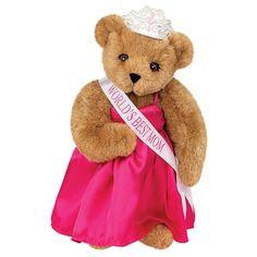 "15"" World's Best Mom Bear from Vermont Teddy Bear. $85.99. #MothersDay"