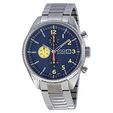 ESQ Movado® Catalyst Chronograph Blue Dial Stainless Steel Bracelet Men's Watch