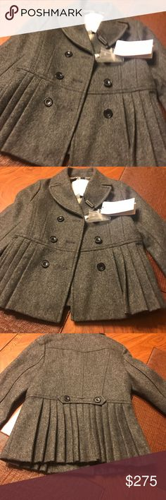 Burberry jacket Authentic little girl's never worn Burberry jacket Burberry Jackets & Coats Pea Coats