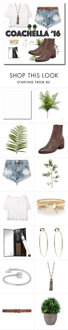 """WHAT I WORE TODAY"" by winxnoelle ❤ liked on Polyvore featuring Pier 1 Imports, One Teaspoon, MANGO, River Island, Color Wow, Bebe, Midsummer Star, ELLA, Dorothy Perkins and coachella"