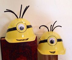 Despicable me Birthday Party/Play Hat (each hat) on Etsy, $8.00