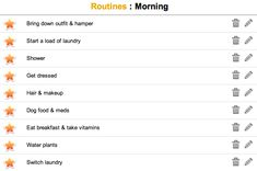 Daily Routines, tips for improving your morning routine, how to organize your morning, creating better habits & cleaning routines, save time