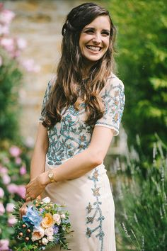 Eliza Jane Howell for an Effortless Glamour Style Wedding at Brinkburn Priory. Photography by Paul Santos.