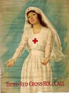 Third Red Cross Roll Call by Haskell Coffin (1919)