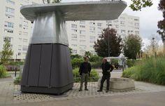 composteur Ekovore collectif à Nantes