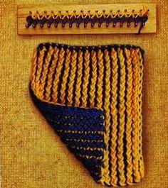 Textiles Cachicadán: Puntos Telar Rectangular
