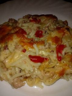Húsos-sajtos tészta Pasta Recipes, Cooking Recipes, Healthy Recipes, Hungarian Recipes, Finger Foods, Lasagna, Natural Health, Macaroni And Cheese, Bacon