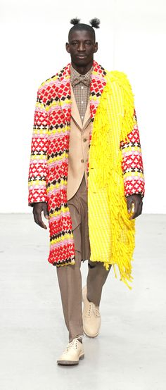 Walter van Beirendonck aw 11/12. The combination of both texture and tailoring captures the essence of what I am attempting to get across within my design theory and concept.