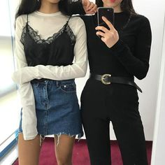 Image uploaded by 알렉스 ☾. Find images and videos about girl, fashion and outfit on We Heart It - the app to get lost in what you love.