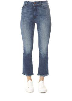 'Bridget' El Camino Cropped Mid Rise Jeans | Jessimara Dl 1961, Grey Scarf, Denim Jeans, Cashmere, Pants, Shopping, Collection, Fashion, El Camino