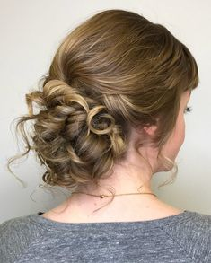 23 Cute Prom Hairstyles For 2019 Updos Braids Half Ups Down Dos intended for dimensions 1000 X 1245 Cute Grad Hairstyles - By knowing you'll want known Sweet Hairstyles, Cute Girls Hairstyles, Messy Hairstyles, Pretty Hairstyles, Teenage Hairstyles, Short Hairstyle, Prom Hair Updo Elegant, Braided Prom Hair, Prom Hair Medium