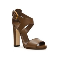 Gucci Leather Ankle Strap Sandal