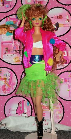 Dance Club Kayla® Doll I remember this doll like it was just yesterday!  Loved that her name was KAYLA