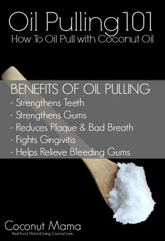 Oil Pulling 101 - How To Oil Pull with Coconut Oil