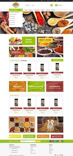 THESPICE.CO | Web Design| Website + Logo Design Design gráfico Marca Design editorial