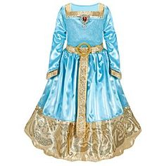 Birthday maybe   Disney Formal Brave Merida Costume for Girls | Disney StoreFormal Brave Merida Costume for Girls - Get your little adventurer dressed for Scotland's Highland Games and beyond! This finely detailed Merida Dress inspired by the memorable scene in Disney/Pixar's Brave features elegant accents fit for any grand occasion.